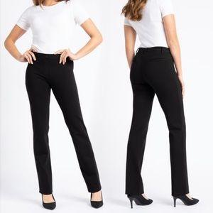 Betabrand Dress Pant Yoga Pants Black L